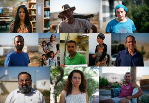 visi dai villaggi ebraici di Giudea e Samaria