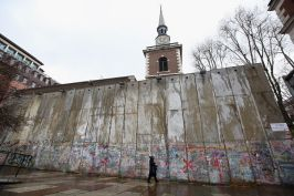 Temporary Separation Wall To Highlight Life In Bethlehem