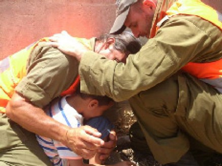 Yair and the two soldiers